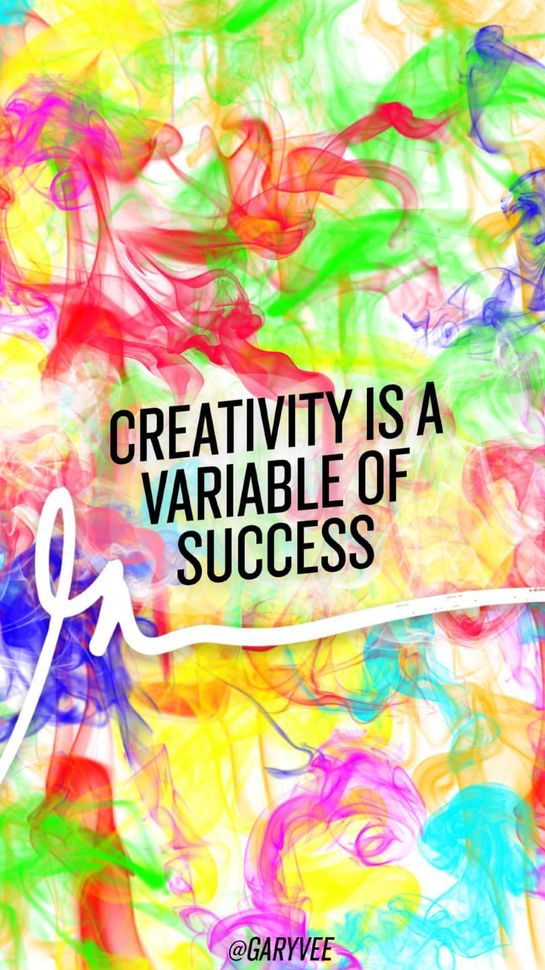 Creativity Is A Variable Of Success