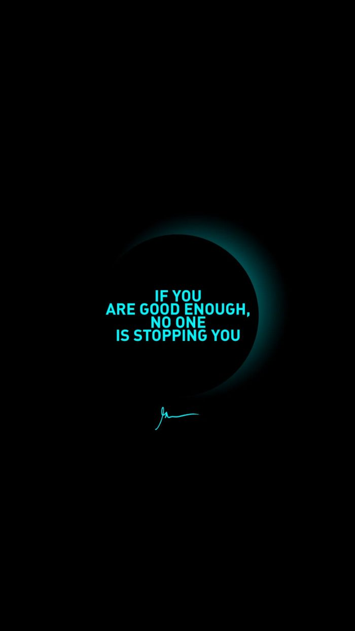 If you are good enough no one is stopping you