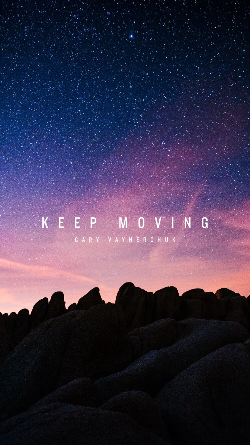 Keep Moving
