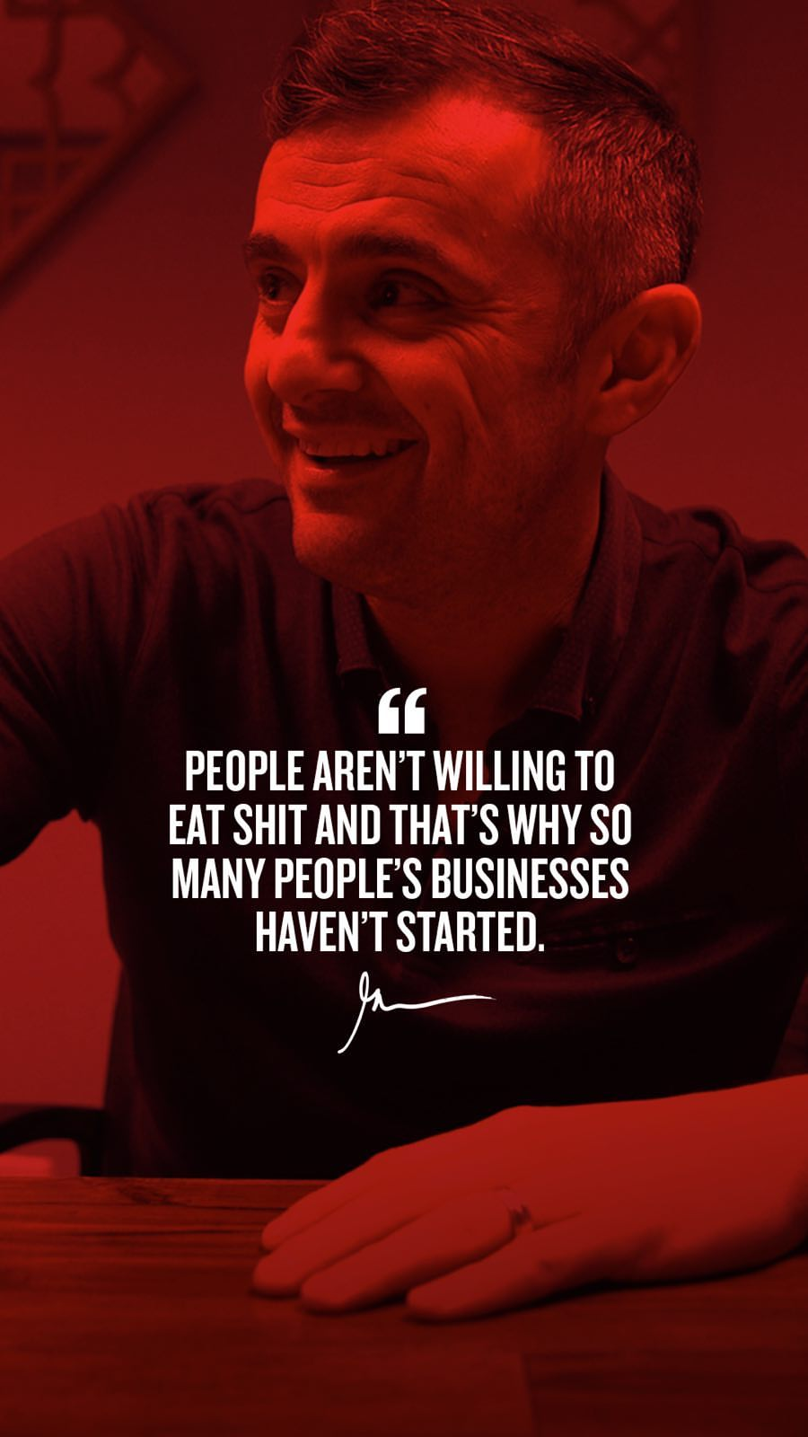 People Aren't Willing To Ear Shit And That's Why So Many People's Business Haven't Started