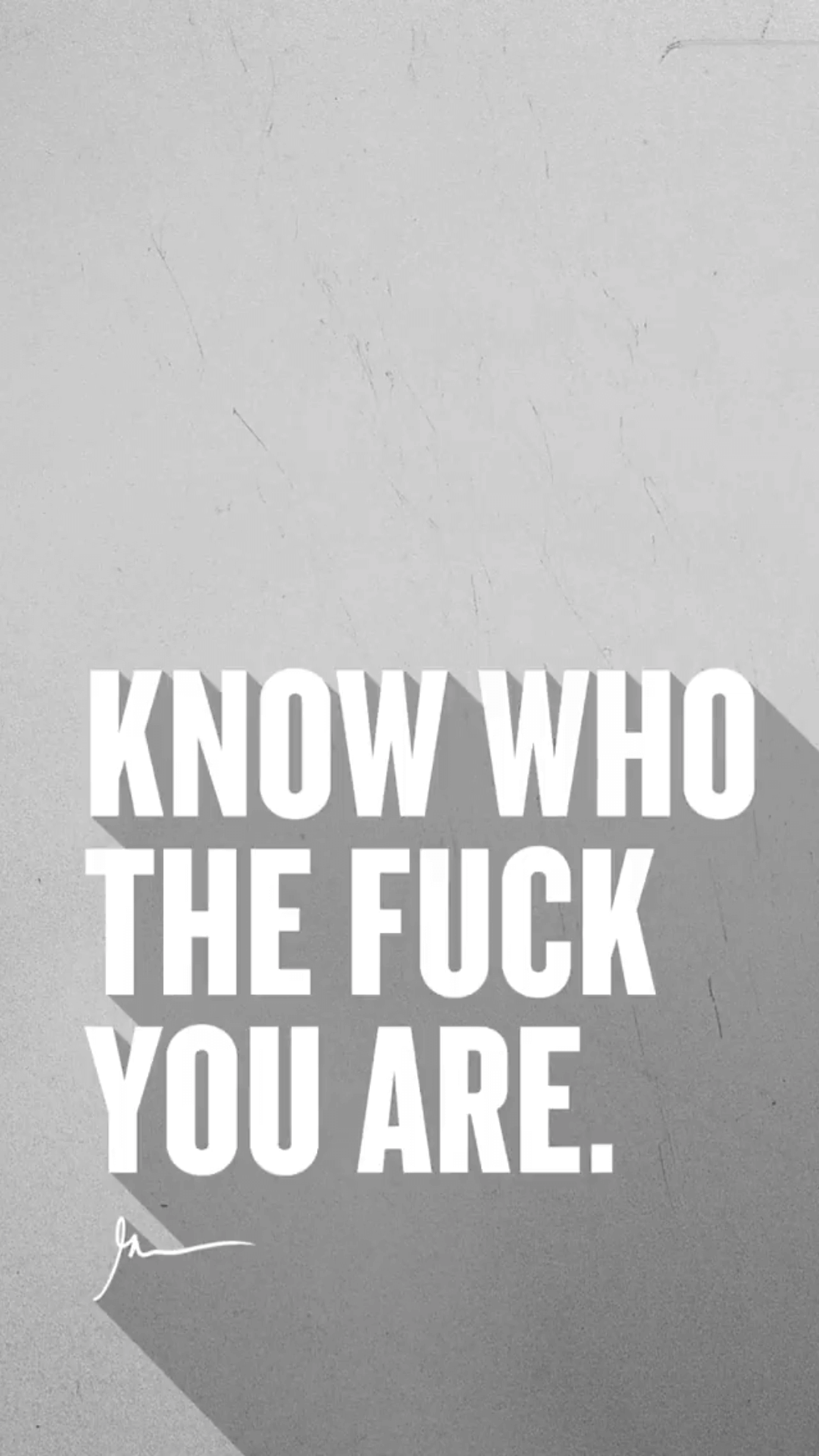 Know Who The Fuck You Are Garyveewallpapers.com