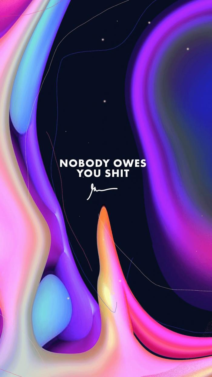 Nobody Owes You Shit gary vaynerchuk wallpaper