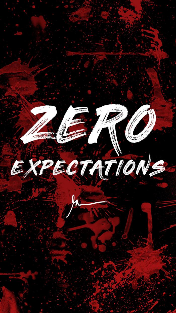 Zero Expectations GaryVaynerchuck Quote Wallpaper