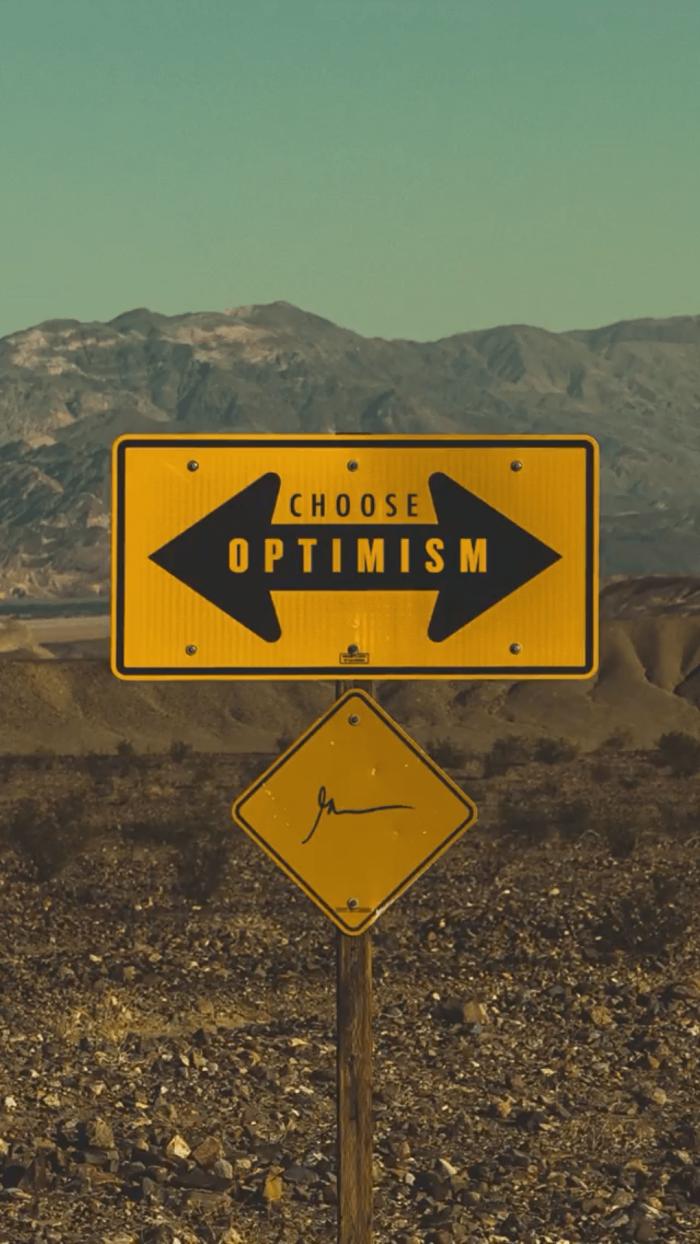 Choose Optimism GaryVeeWallpapers.com
