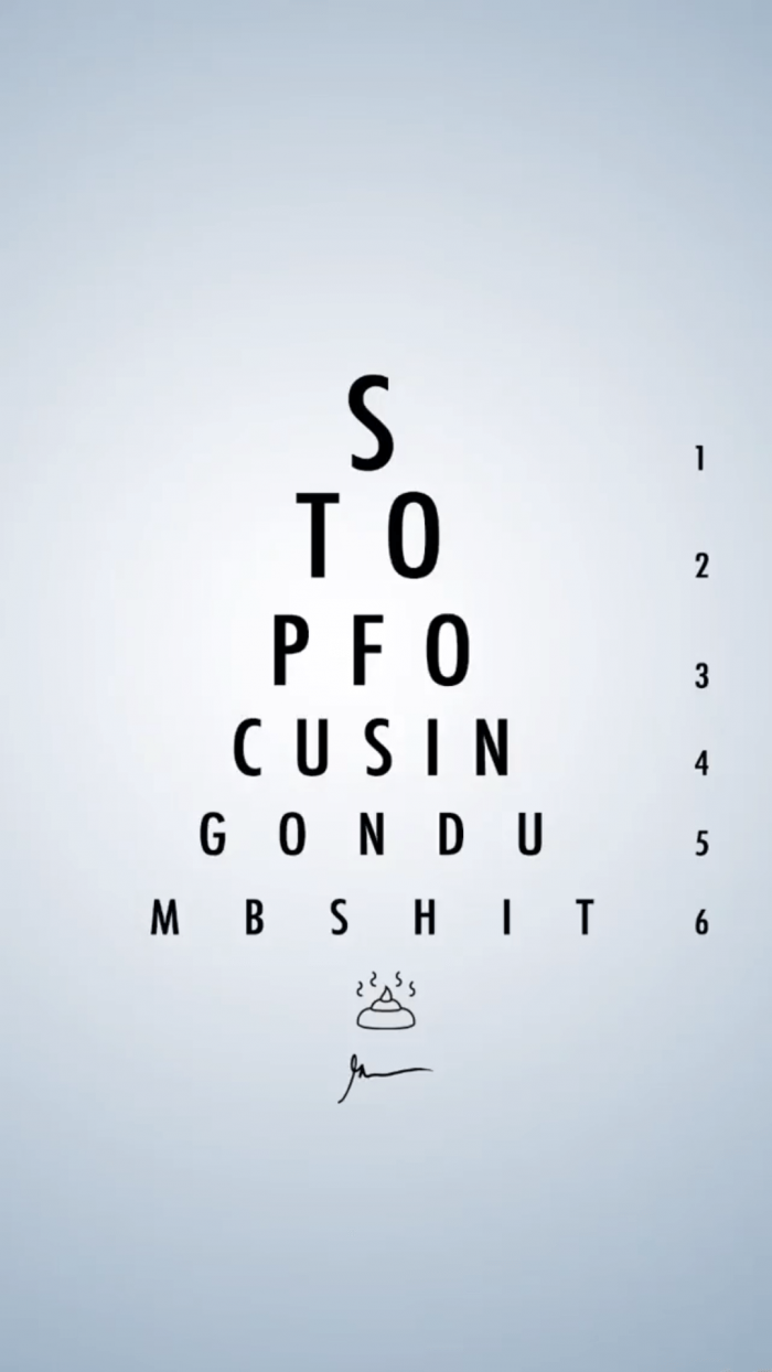 Stop Focusing on Dumb Shit GaryVeeWallpapers.com